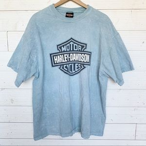 Harley Davidson Distressed Texas Logo Shirt